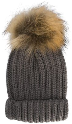 3ee082d948b Lapin House Pom Pom Knitted Hat - Farfetch