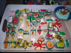 candy sushi...too funny!
