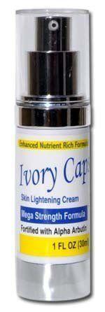Ivory Caps Mega Strength Skin Lightening Cream 1 FL OZ -- For more information, visit image link.