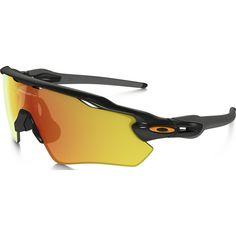Oakley Sport Radar EV Path Polished Black Sunglasses | Fire Iridium