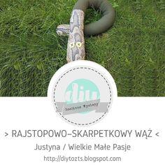 DIY - zrób to sam : #39 GOŚCINNE WYSTĘPY / Justna / Rajstopowo-skarpet... Bloom