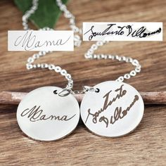ed11e0f0e22c4 13 Best Actual Handwriting Jewelry images in 2019 | Calligraphy ...