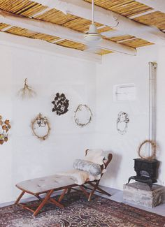 ELLE editor Jackie Burger's weekend cottage in the Karoo .....Photographs: Micky Hoyle