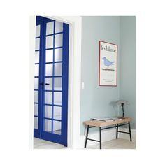 "File under Pop (@fileunderpop) ""Paint Wall #greengreengrassofhome / Paint Door #turbulentindigo 🙏 #interiorarchitect #stinelangvad…"""