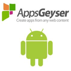 AppsGeyser: One of the fastest and simplest growing app that allows you to build, distribute, monetize your applications in just one place. A free service that entirely transforms your content into a application. You can create your app as per your desire including social sharing, messaging, tabs and full support for the HTML enhancements.