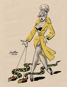 Retro Pinup Girl Art Prints by SvetaShubinaGallery x / x / x / x / x x / x / x / x / x Gravure Illustration, Illustration Art, Halloween Art, Vintage Halloween, Vintage Comics, Vintage Art, Dibujos Pin Up, Arte Alien, Drawn Art