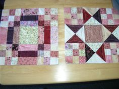 Good way to quilt as you go.  I want to try this.