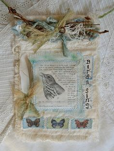 Artful Affirmations: October 2012 - prayer flag