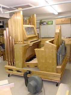 Organ for sale - Rieger Pipe Organ -tracker 24 ranks