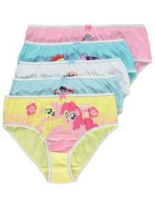 0834cd86c513d Girls My Little Pony Clothes Online: MLP Briefs 5 Pack – Novelty-Characters
