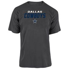 Cowboys Mens All the Way Game T-Shirt – Charcoal