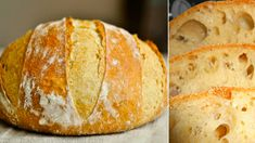 Domácí křupavý chlebík: Hotový raz-dva, voní po celém domě a chutná úžasně! Good Food, Yummy Food, Bread And Pastries, Russian Recipes, Pampered Chef, Bread Baking, Tray Bakes, Baking Recipes, Food To Make