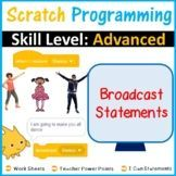 Advanced Scratch Programming: Broadcast Statements Teaching Science, Teaching Resources, Teaching Ideas, Middle School Technology, Leaflet Template, Teaching Programs, Research Skills, Presentation Skills, Instructional Technology