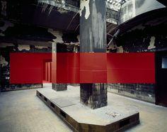 georges rousse | Georges Rousse s'est emparé de la Station Sanitaire | Musée ...