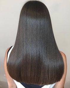 Lace Front Hair Wigs black wig no bangs – Rillyy Long Silky Hair, Long Thin Hair, Long Black Hair, Super Long Hair, Long Layered Hair, Smooth Hair, Black Wig, Beautiful Long Hair, Gorgeous Hair