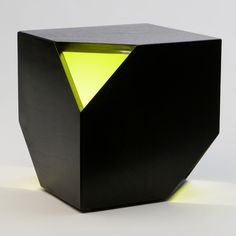 Nugget Hollow. You can use it as a side table, a stool, or a lamp (since you can plug it in and the green part glows from within). Sweet!