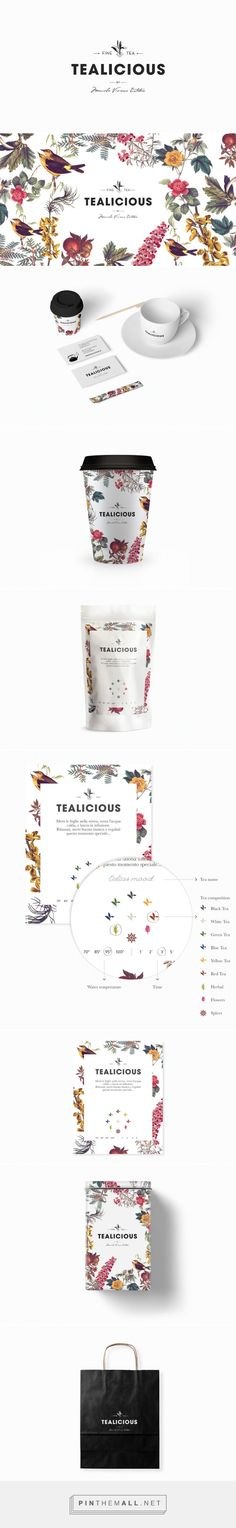 Tealicious ‪#‎Tea‬ Shop ‪#‎packaging‬ designed by Alvarez Juana…
