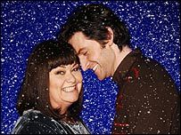 The Vicar of Dibley - Dawn French with onscreen husband Richard Armitage.  Yes!