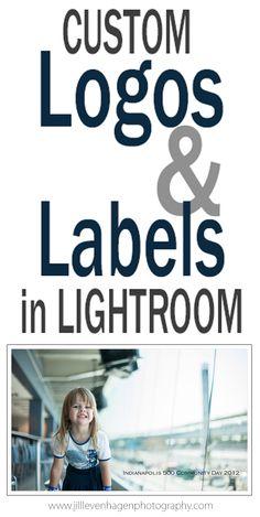 Photography Tips & Tutorials | Custom Logos and Labels in #Lightroom #Tutorial @English4Matura