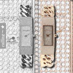 セレブ愛用者多数☆Michael Kors☆ Ladies Watch ステンレススティールケースにステンレススティールブレスレットの組み合わせの腕時計 シルバーストーンとゴールドストーンが綺麗なアイテムです
