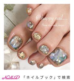 25 elegant nail art designs for prom 2019 04 25 elegant nail art designs for prom 2019 04 Cute Toe Nails, Toe Nail Art, Love Nails, Pretty Nails, Nail Art Designs, Toe Nail Designs, Feet Nail Design, Elegant Nail Art, Happy Nails