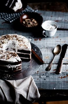 Chocolate Wedding Cake.