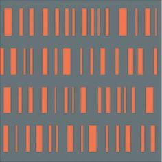 Roman Stripe  by Alexander Girard