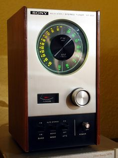 SONY ST-80F Solid State Stereo Tuner