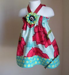 NEW Precious Poppys Halter Top/Dress Toddler by JMBthreedesigns, $35.00