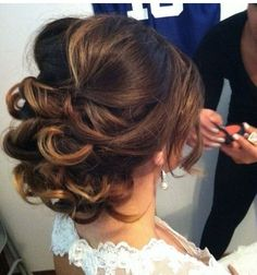 Different Hairstyles For Long Hair Loose Updo Rachellamb  Hair Makeup And Nails  Pinterest  Updo