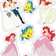 Découpage Ariel - Mes Créations | Disney.fr