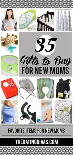 Find the perfect gift for every new mom on your list! 145 gift ideas that she will truly love and fully appreciate!