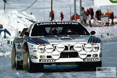 Lancia Rally 037, the 1982 version.