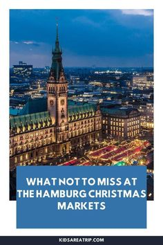 If you are visiting Hamburg Germany at Christmas, the sheer number of holiday celebrations can be overwhelming. Here are some of the best Christmas Markets in Hamburg, when to go, and what to eat when you visit. - Kids Are A Trip |Christmas Markets| Hamburg Christmas market| German Christmas Markets Christmas Markets Germany, German Christmas Markets, Toddler Travel, Travel With Kids, Winter Travel, Holiday Travel, Family Vacation Destinations, Family Vacations, Sheer Number
