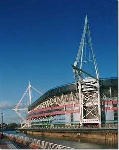 The Millennium Stadium Millennium Stadium, Welsh Rugby, Sports Stadium, Beautiful Buildings, Cathedrals, Architecture Design, World, Places, Architecture Layout