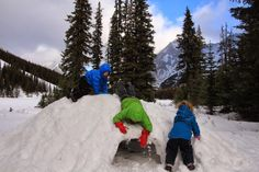 10 Ways to Celebrate a Calgary Outdoor Christmas - Family Adventures in the Canadian Rockies