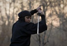 Ninjas in Iran. Who knew?
