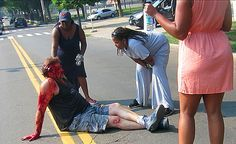 White Marine Brutally Beaten By Block Mob In Revenge Attack For Mike Brown |  sICK ASS WORLD