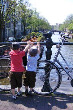 Strolling around Amsterdam