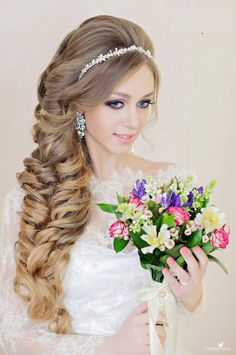 99 Oh So Perfect Curly Wedding Hairstyles #weddinghairstyles