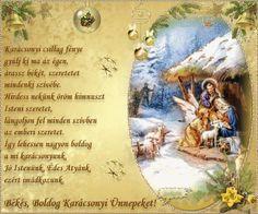 karácsony Christmas Wishes, Christmas Photos, Christmas And New Year, Merry Christmas, December, Greeting Cards, Artwork, Education, Xmas