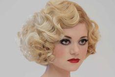 1940s Hairstyles, Fringe Hairstyles, Wedding Hairstyles, Cool Hairstyles, Cropped Hairstyles, 1920s Hair Short, 1930s Hair, Estilo Gatsby, Short Cropped Hair