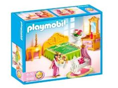Playmobil Bed Chamber with Cradle: Amazon.co.uk: Toys & Games