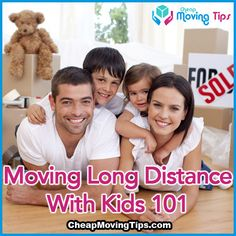 Moving Long Distance with Kids 101 - Great tips for breaking the news, packing up, and moving long distances with a child or children.   #lifetips #parentingtips #movingtips