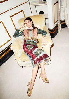 Andrew Woffinden — Leila Yavari, Vogue.com London 2015