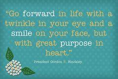Quotes  go forward