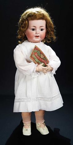 Let the Music Begin!: 278 German Bisque Character,126,by Kammer and Reinhardt with Rare Toddler Body