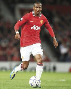 Asley Young attacking midfielder Manchester United and the English National Football team
