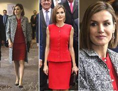 Resultado de imagen para vestidos de la reina letizia