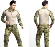Tactical Camouflage Military Uniform Clothes Suit Men US Army Multicam Hunting Military Combat Shirt + Cargo Pants Knee Pads US $85.00 - http://armybackpack.xyz/tactical-camouflage-military-uniform-clothes-suit-men-us-army-multicam-hunting-military-combat-shirt-cargo-pants-knee-pads-us-85-00/